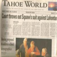 Tahoe World December 12, 2002